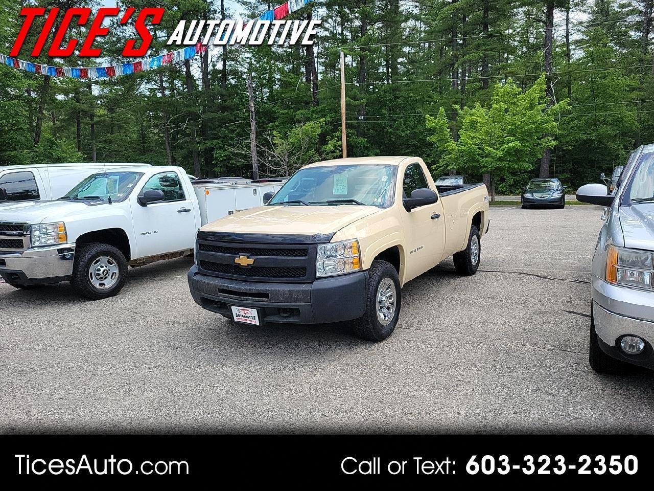 """Chevrolet Silverado 1500 4WD Reg Cab 133.0"""" Work Truck 2013"""