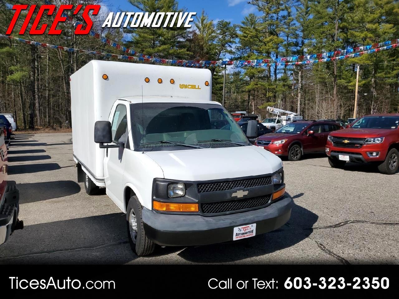 "Chevrolet Express Commercial Cutaway 139"" WB C6Y 2003"