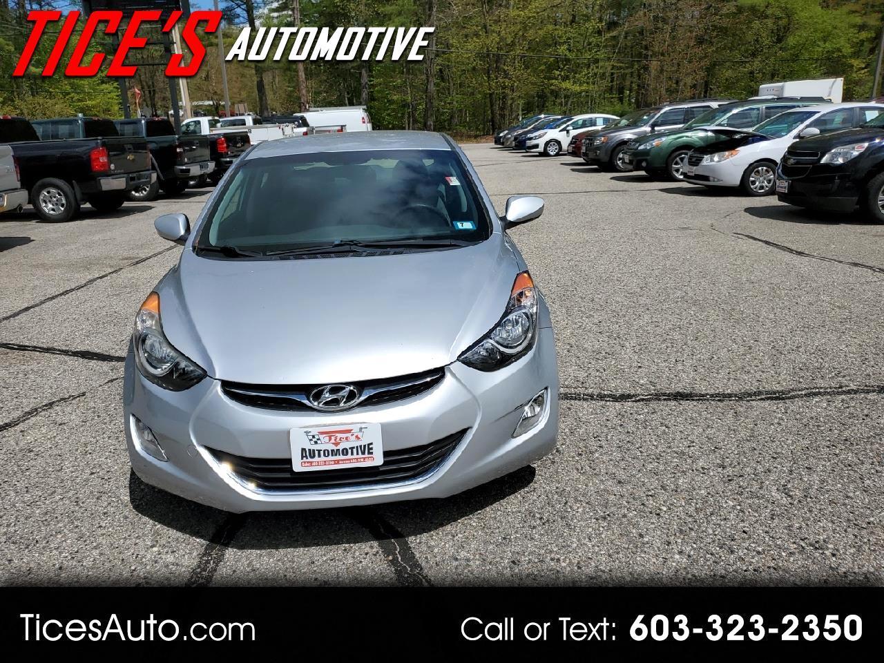 Hyundai Elantra 4dr Sdn Auto GLS PZEV (Alabama Plant) *Ltd Avail* 2013