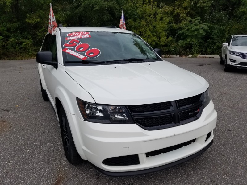 2018 Dodge Journey FWD 4dr SE