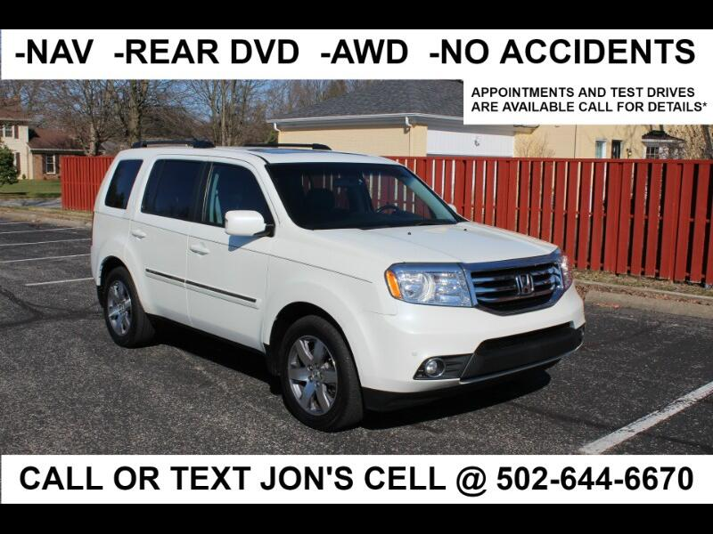 Honda Pilot Touring 4WD 5-Spd AT with DVD 2014