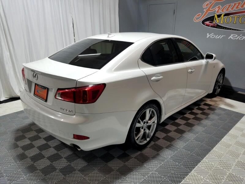 2009 Lexus IS IS 350 6-Speed Sequential