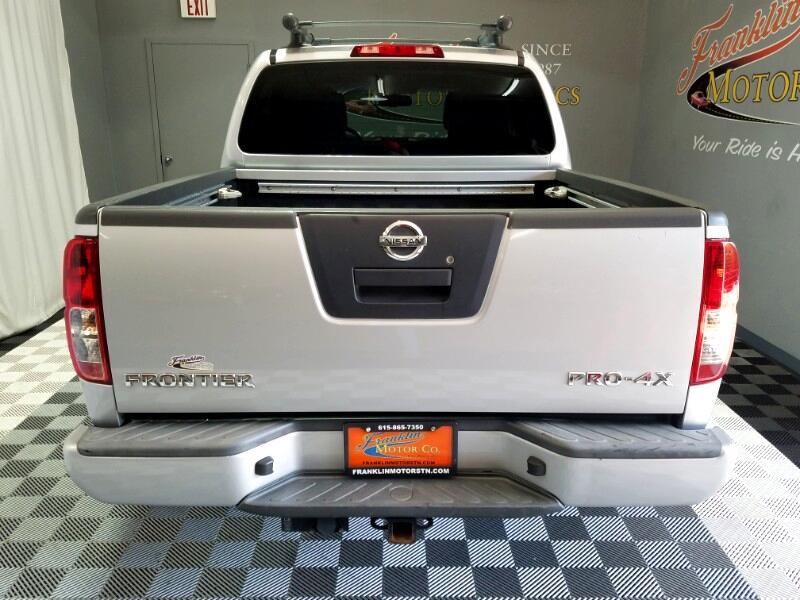 2012 Nissan Frontier PRO-4X Crew Cab 4WD