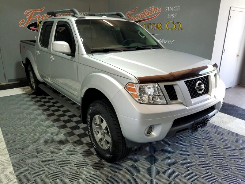 2012 Nissan Frontier PRO-4X Crew Cab 4WD