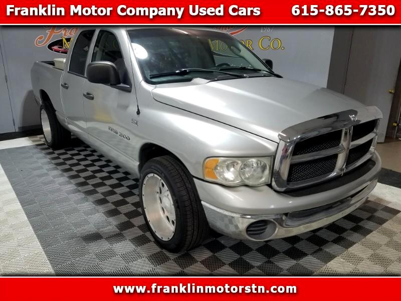 Dodge Ram 1500 SLT Quad Cab Long Bed 2WD 2005