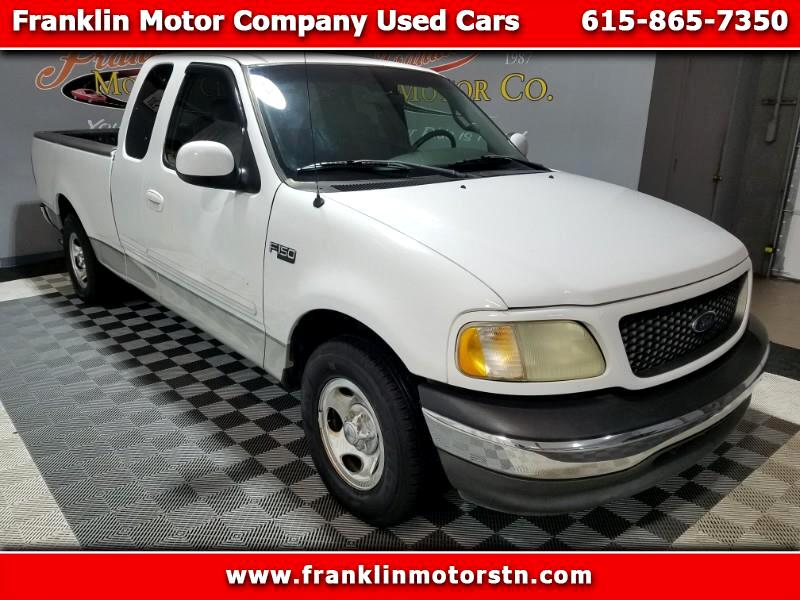 Ford F-150 XLT SuperCab Short Bed 2WD 2002