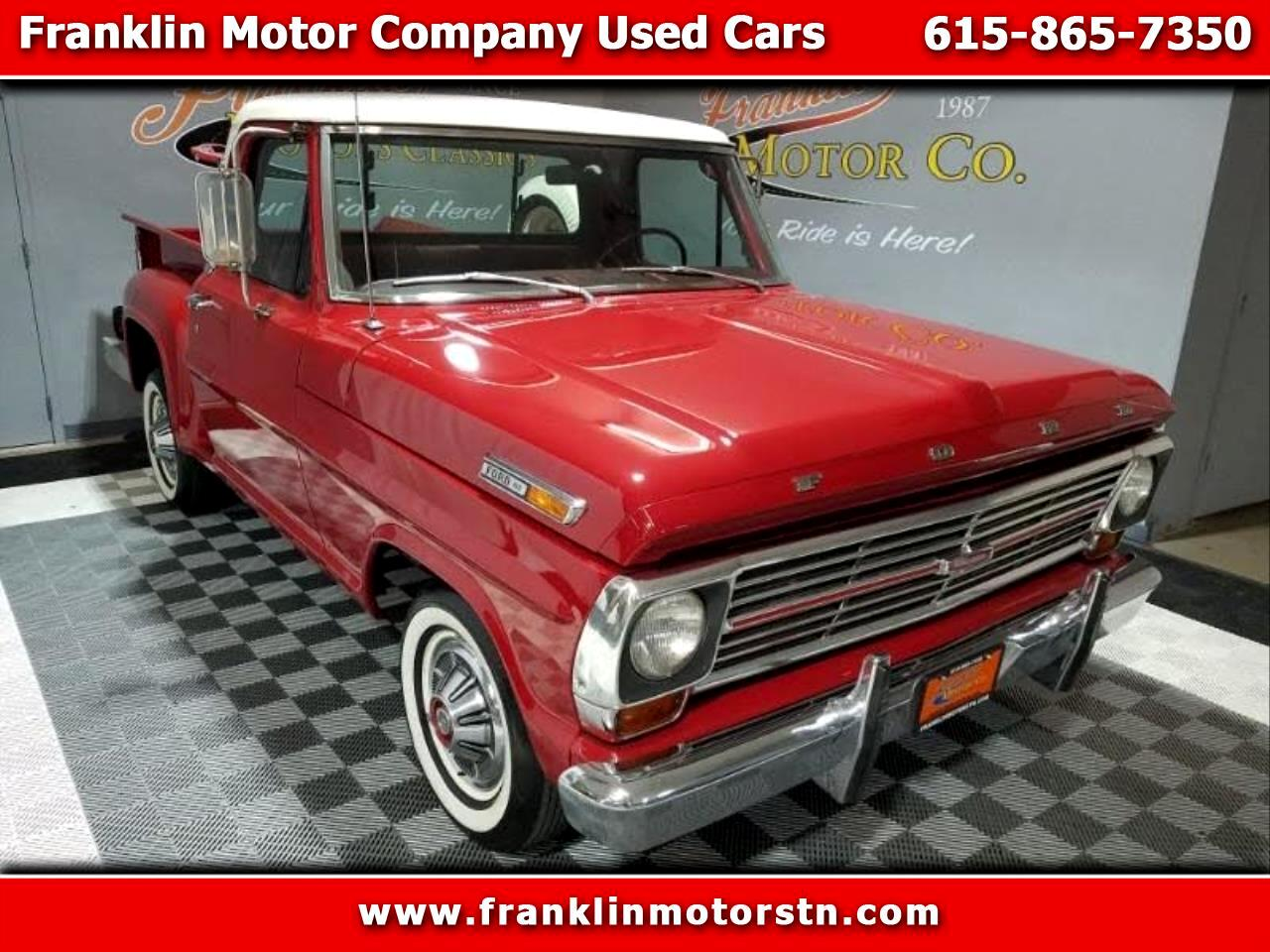 Ford F-100 Regular Cab 2WD 1969
