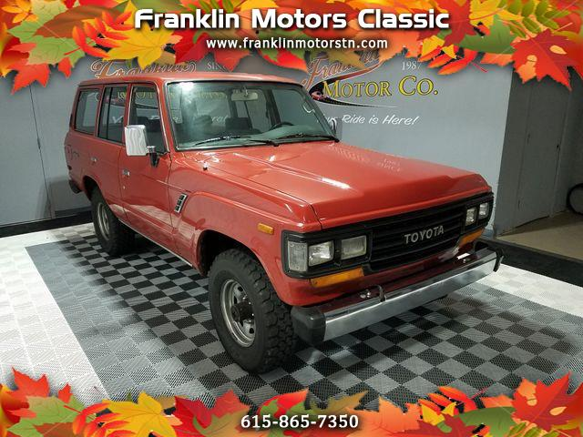 1988 Toyota Land Cruiser 4WD