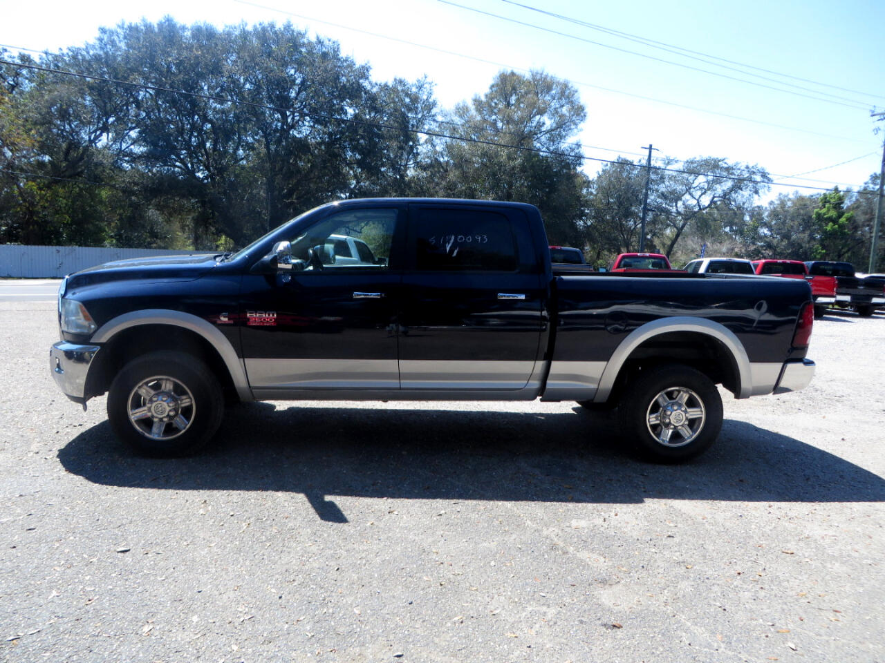 2012 Dodge 2500 HD Laramie Crew Cab Short Bed 4WD