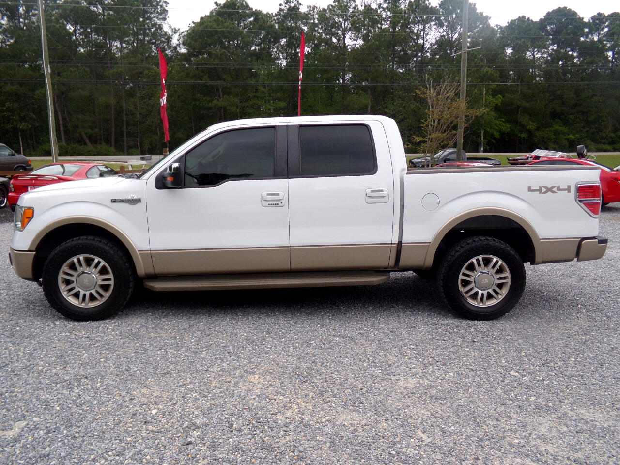 "2011 Ford F-150 2WD SuperCrew 145"" King Ranch"