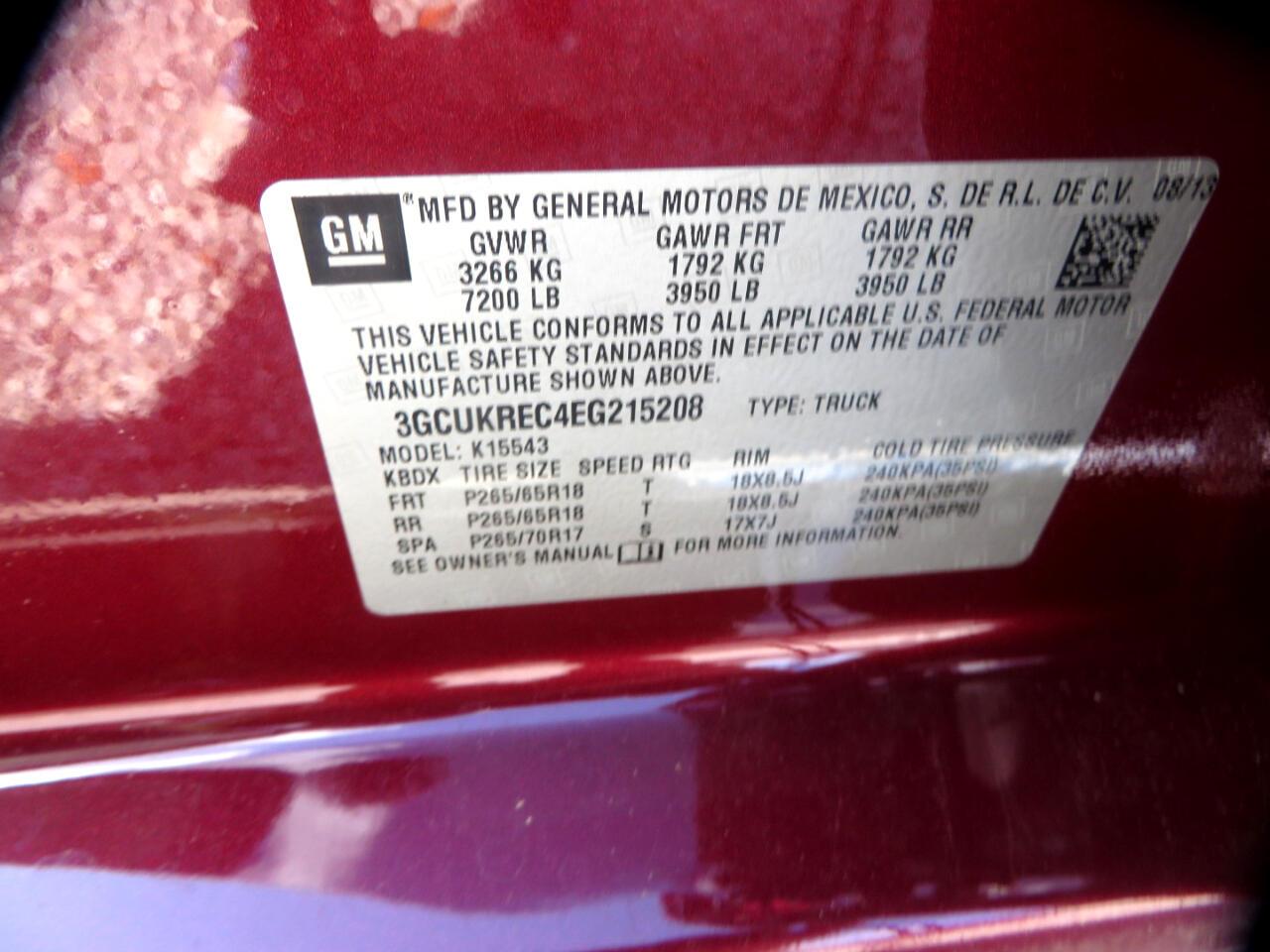 2014 Chevrolet Silverado 1500 4WD Crew Cab 143.5