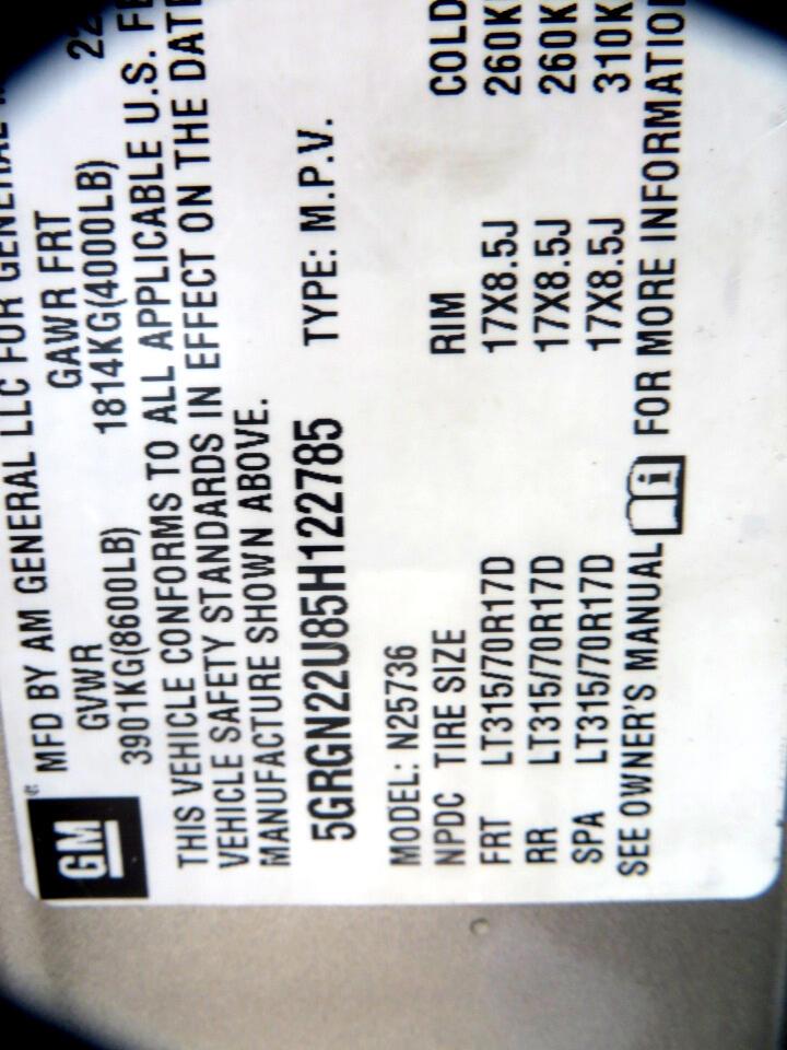 HUMMER H2 SUT Luxury 2005