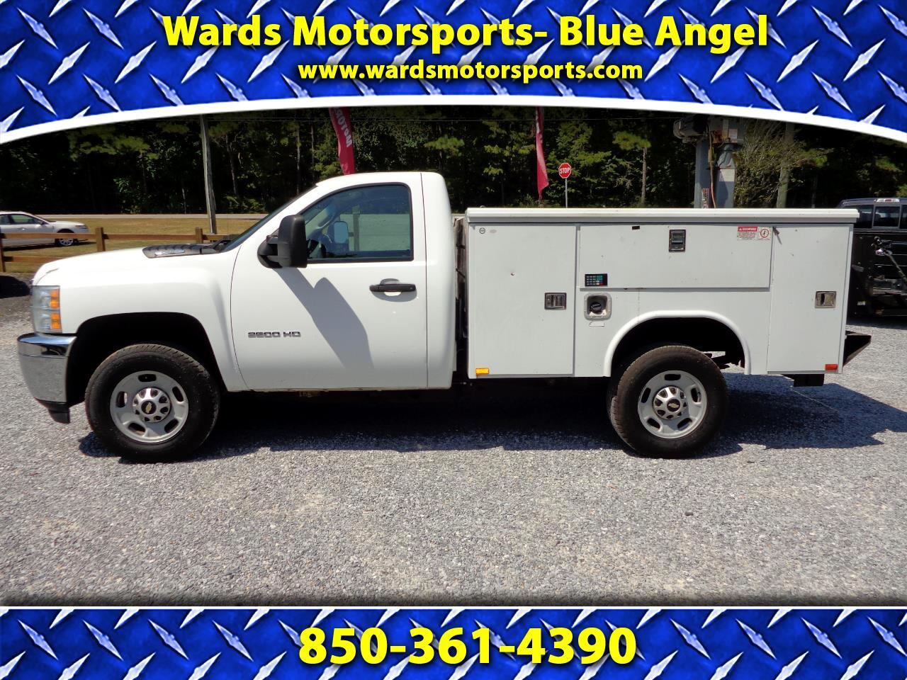 """2012 Chevrolet Silverado 2500HD 2WD Reg Cab 133.7"""" Work Truck"""