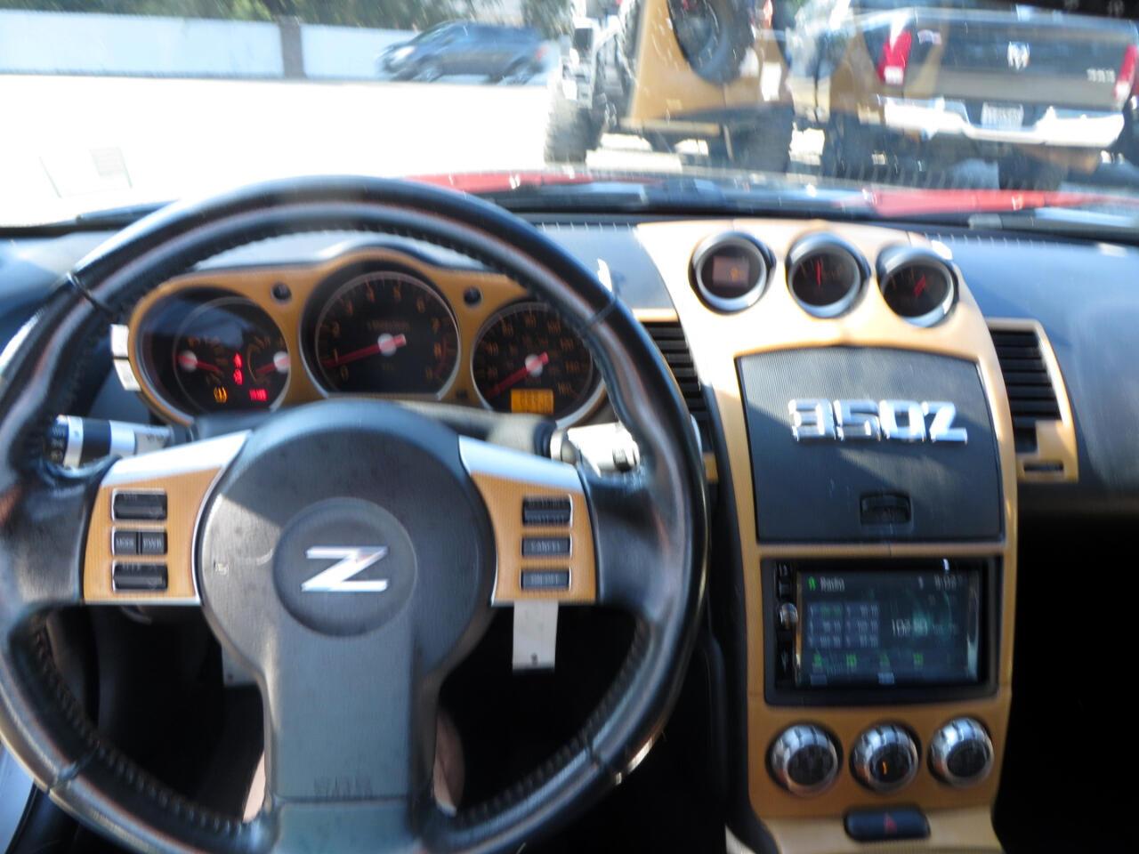 Nissan 350Z 2dr Cpe Man Enthusiast 2008