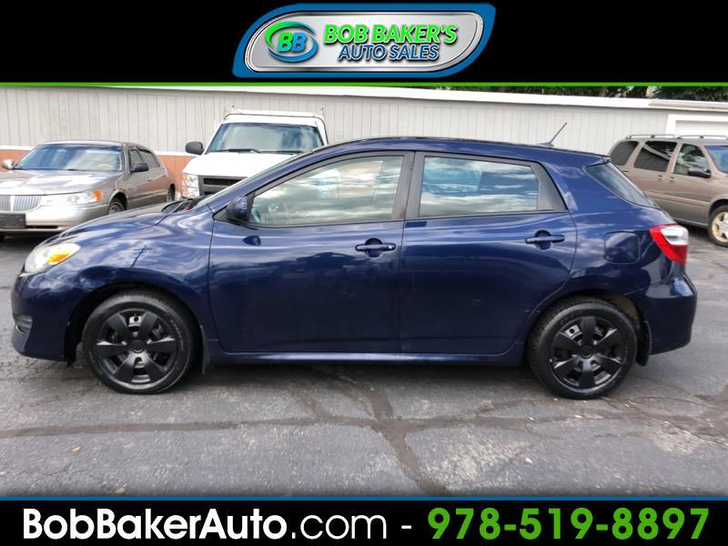 2012 Toyota Matrix Sport Wagon 4D