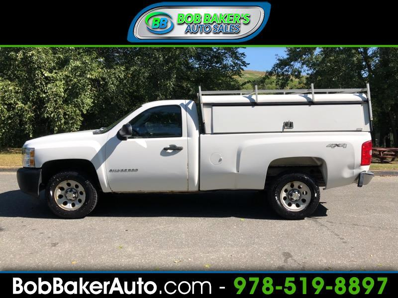 2011 Chevrolet Silverado 1500 Work Truck Pickup 2D 8 ft