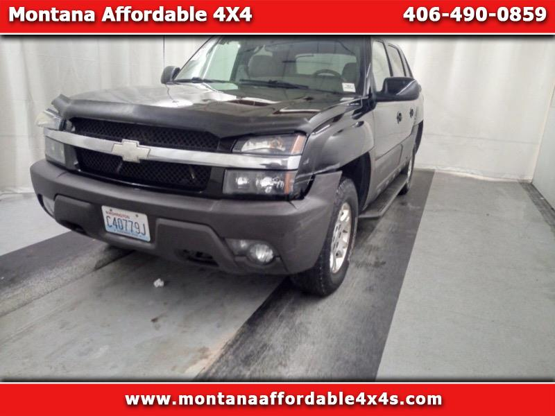 "2004 Chevrolet Avalanche 1500 5dr Crew Cab 130"" WB 4WD LT"