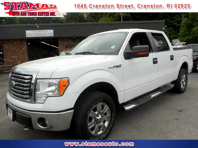 "2010 Ford F-150 4WD SuperCrew 150"" XLT"