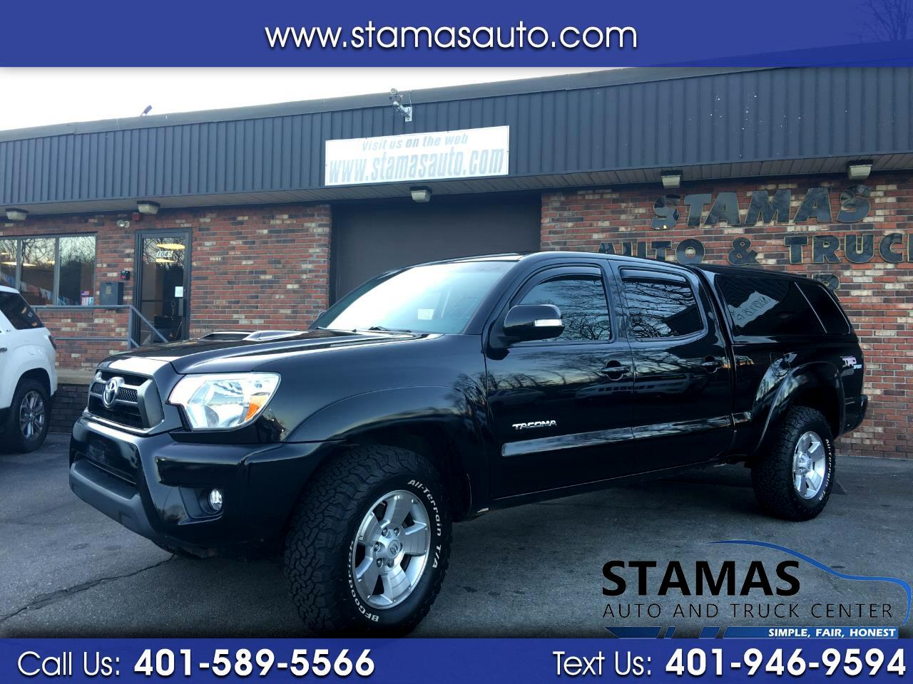 Toyota Tacoma 4WD Double Cab LB V6 AT TRD Sport (Natl) 2012