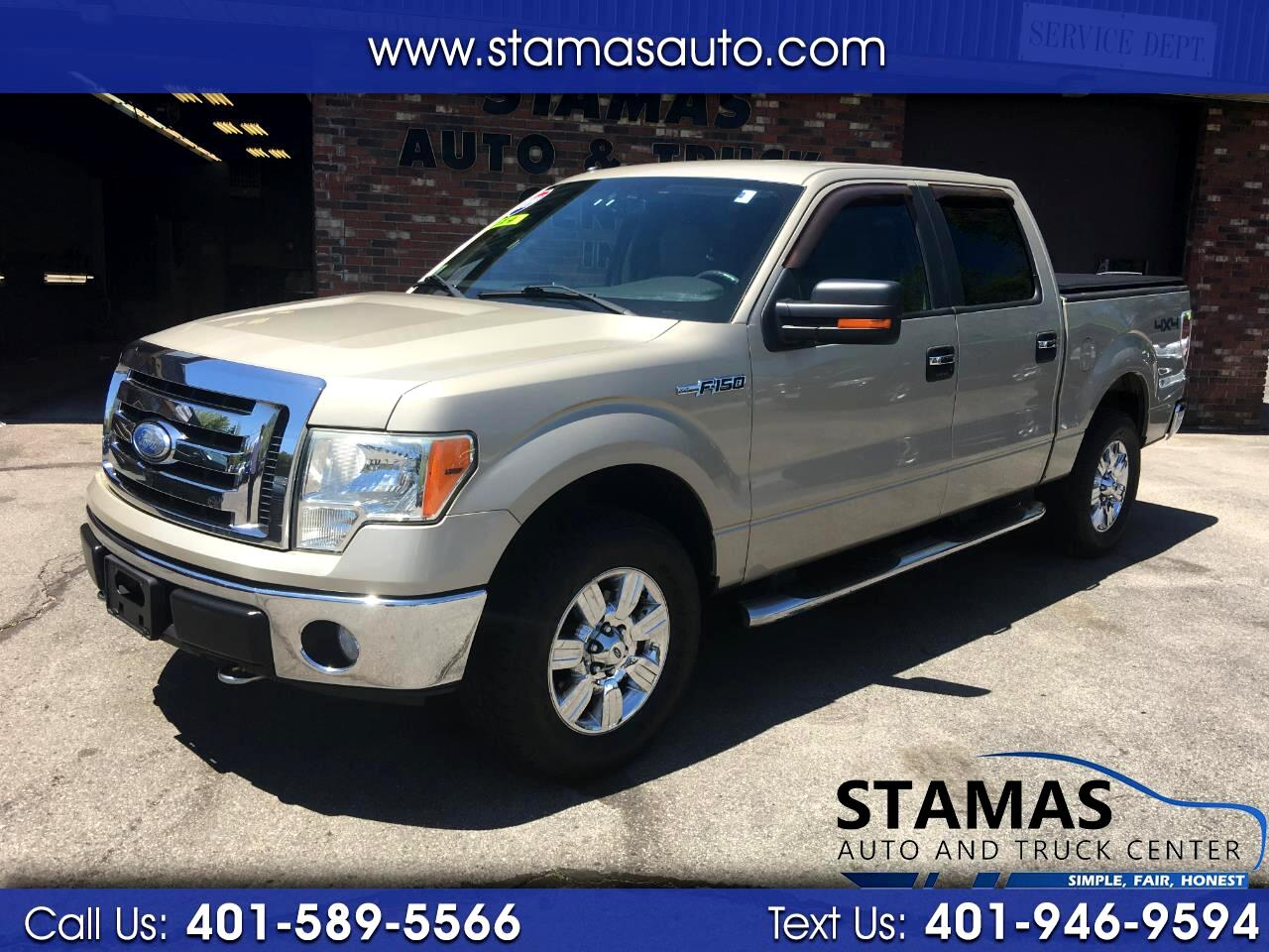 "Ford F-150 4WD SuperCrew 145"" FX4 2009"