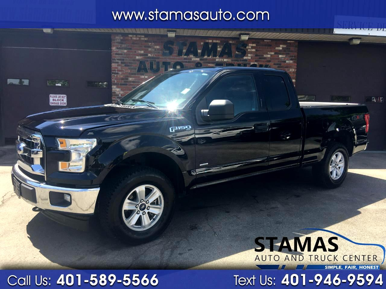 "Ford F-150 4WD SuperCab 133"" FX4 2017"