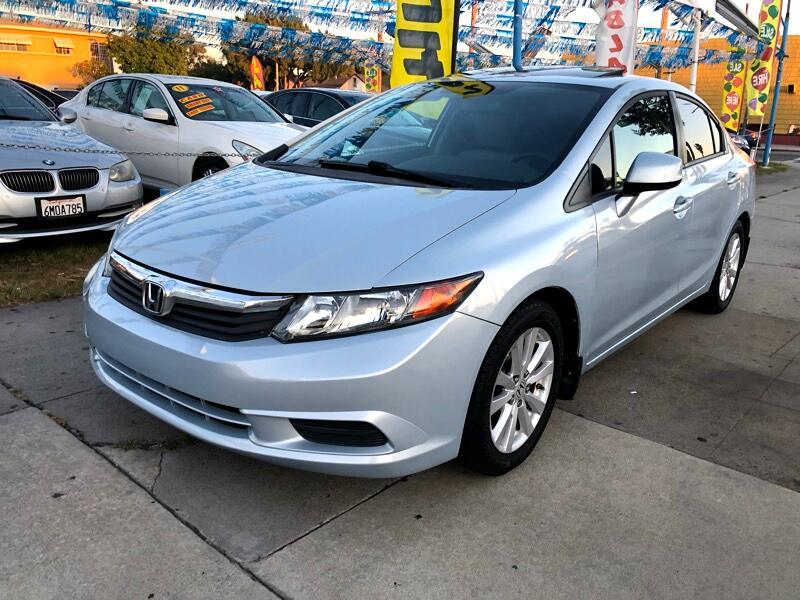 Honda Civic EX-L Sedan 5-Speed AT 2012