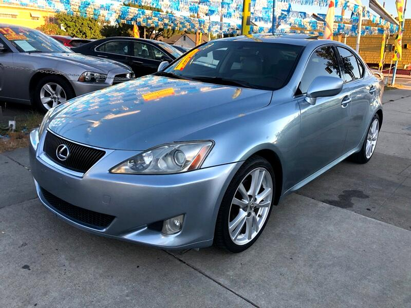 Lexus IS IS 250 6-Speed Sequential 2007