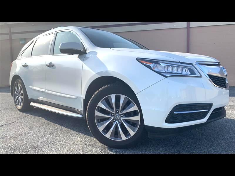 2014 Acura MDX SH-AWD 6-Spd AT w/Tech and En