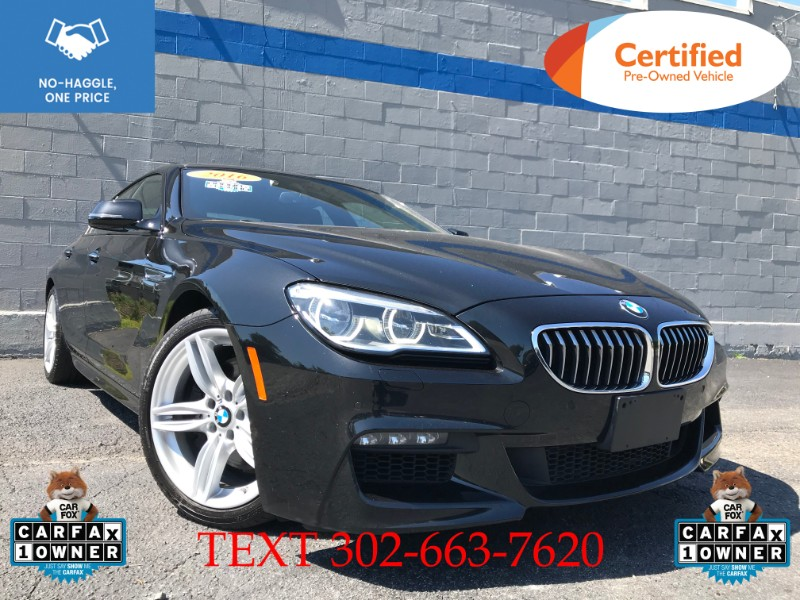 2016 BMW 6-Series Gran Coupe 640 xDrive MSport