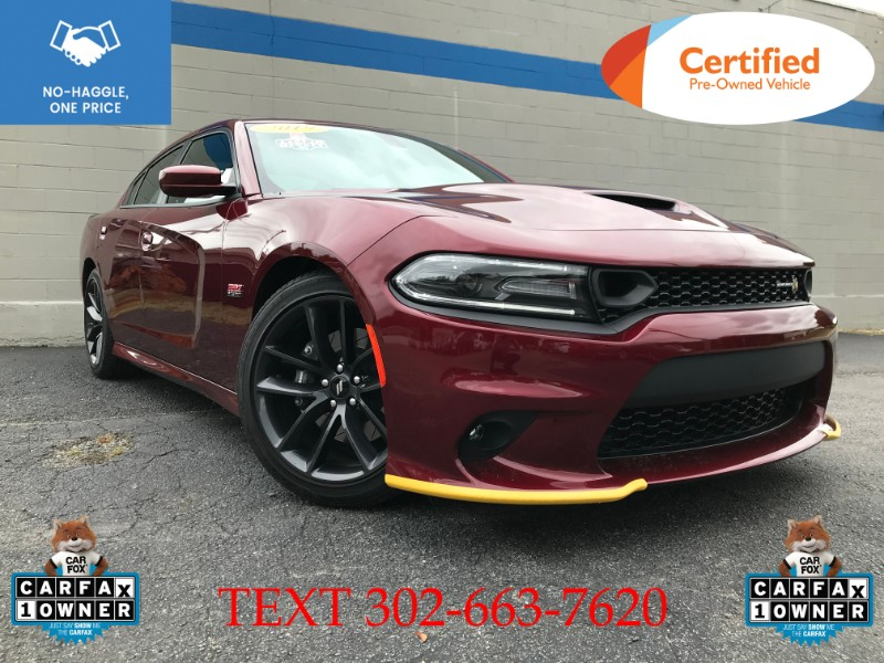 2019 Dodge Charger 4dr Sdn RT Scat Pack RWD
