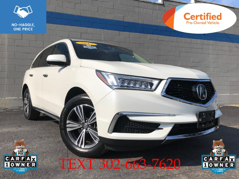 Acura MDX SH-AWD 9-Spd AT 2017