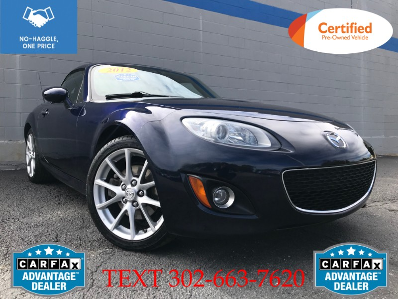 Mazda MX-5 Miata Grand Touring PRHT 2012