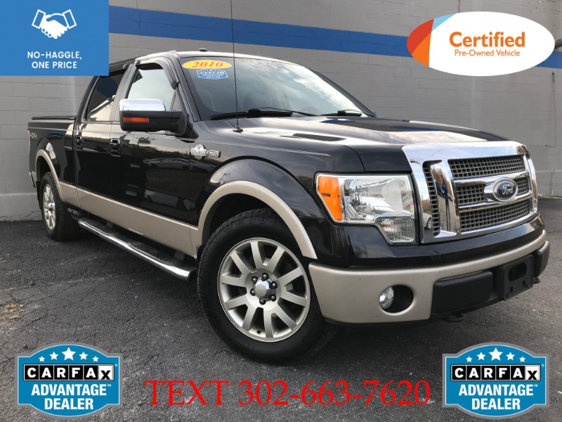 Ford F-150 King Ranch 4WD SuperCrew 6.5' Box 2010