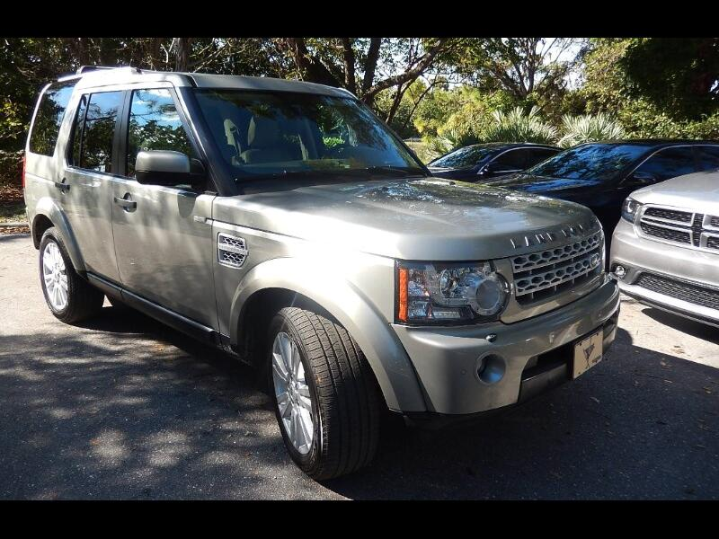 2012 Land Rover LR4 HSE Luxury