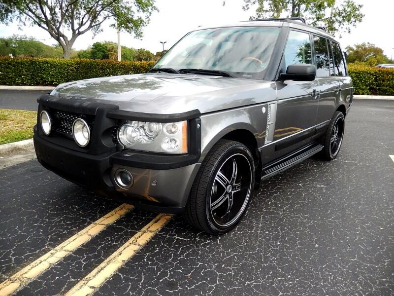 Land Rover Range Rover 4WD 4dr HSE LUX 2008