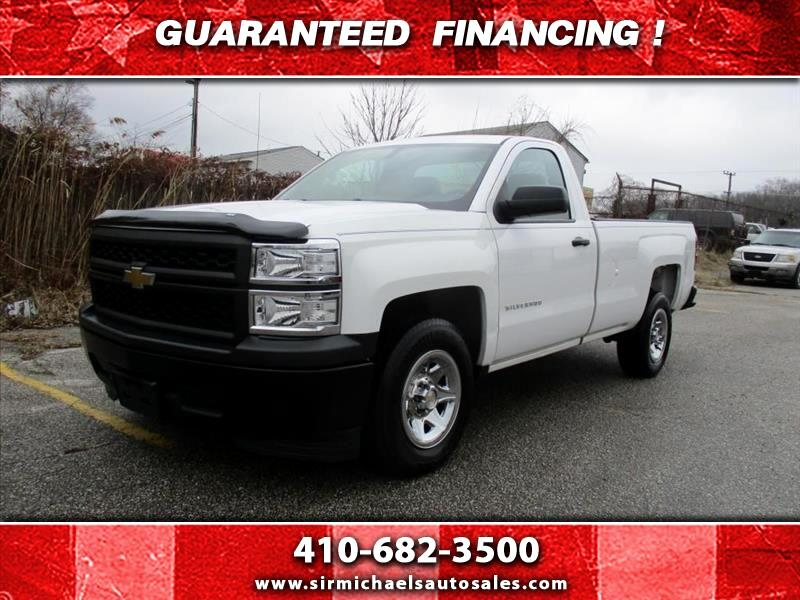 2014 Chevrolet Silverado 1500 Work Truck 1WT Regular Cab 2WD