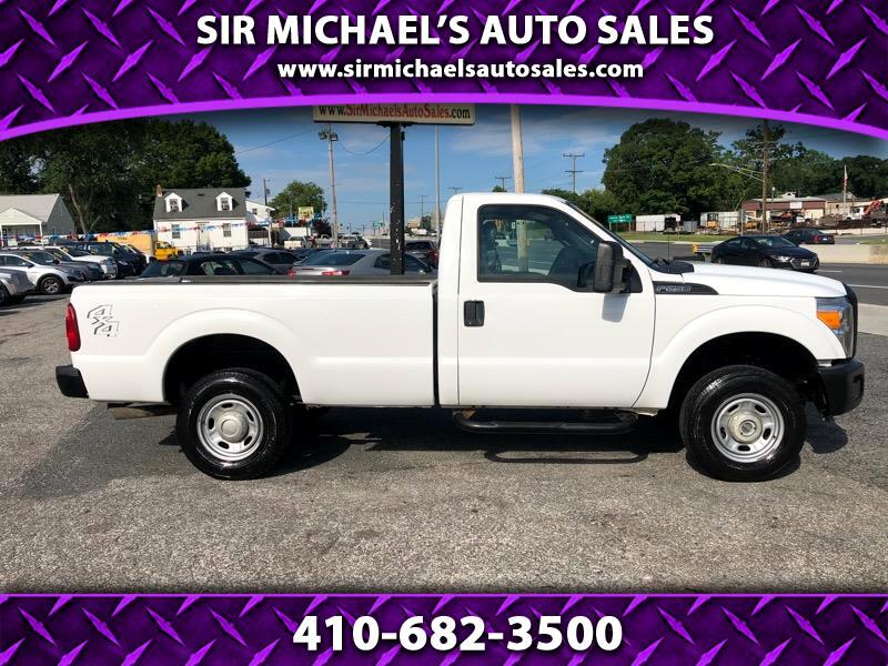 2014 Ford F-250 SD XL Super Duty Single Cab 4WD