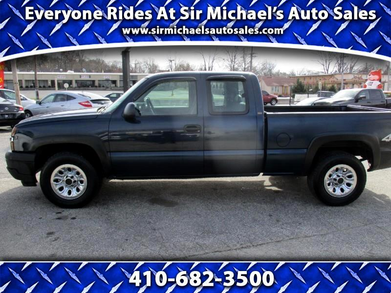 Chevrolet Silverado 1500 Z71 Ext. Cab Short Bed 4WD 2005