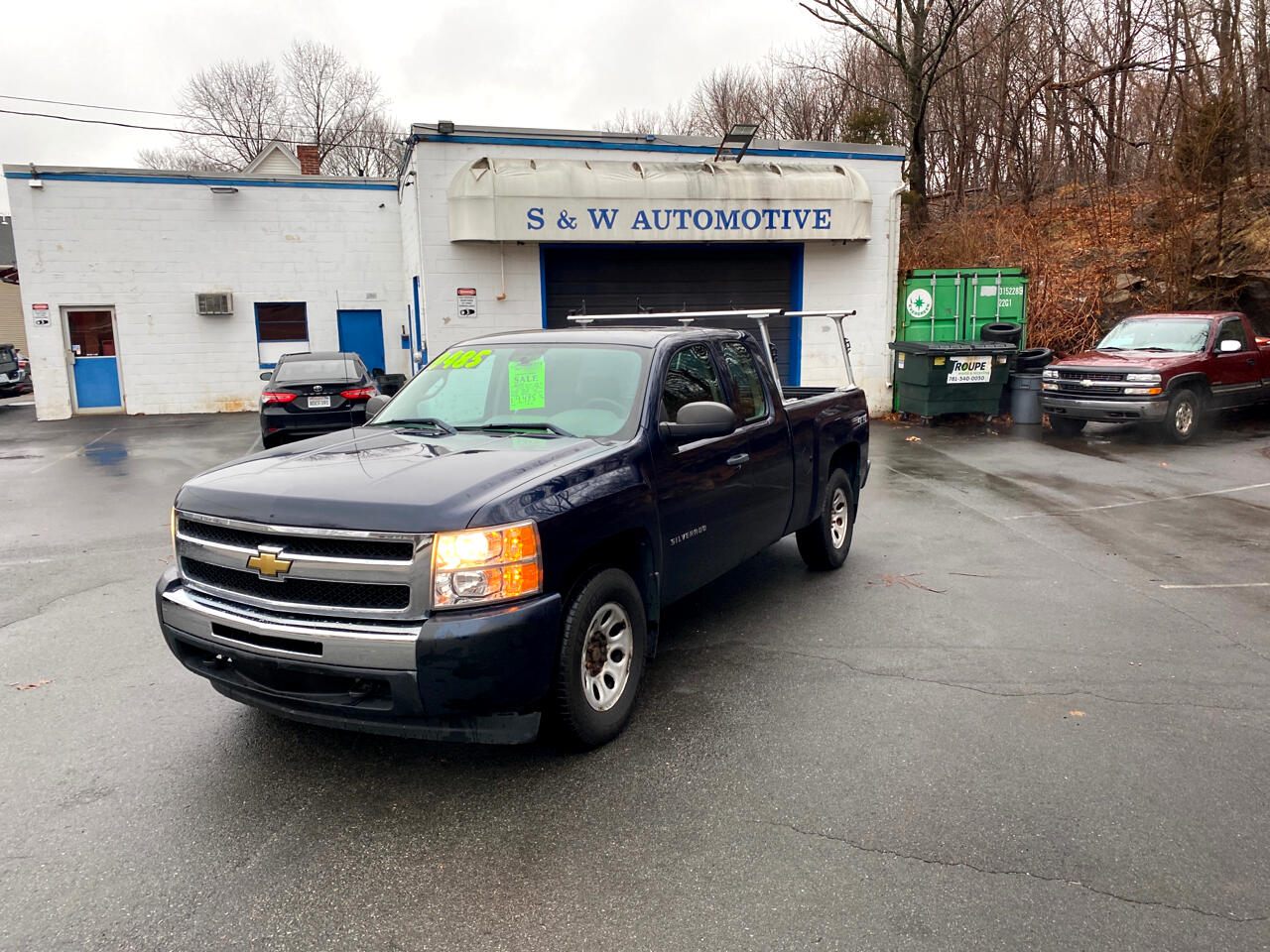 Chevrolet 1500 Work Truck Ext. Cab 4WD 2011