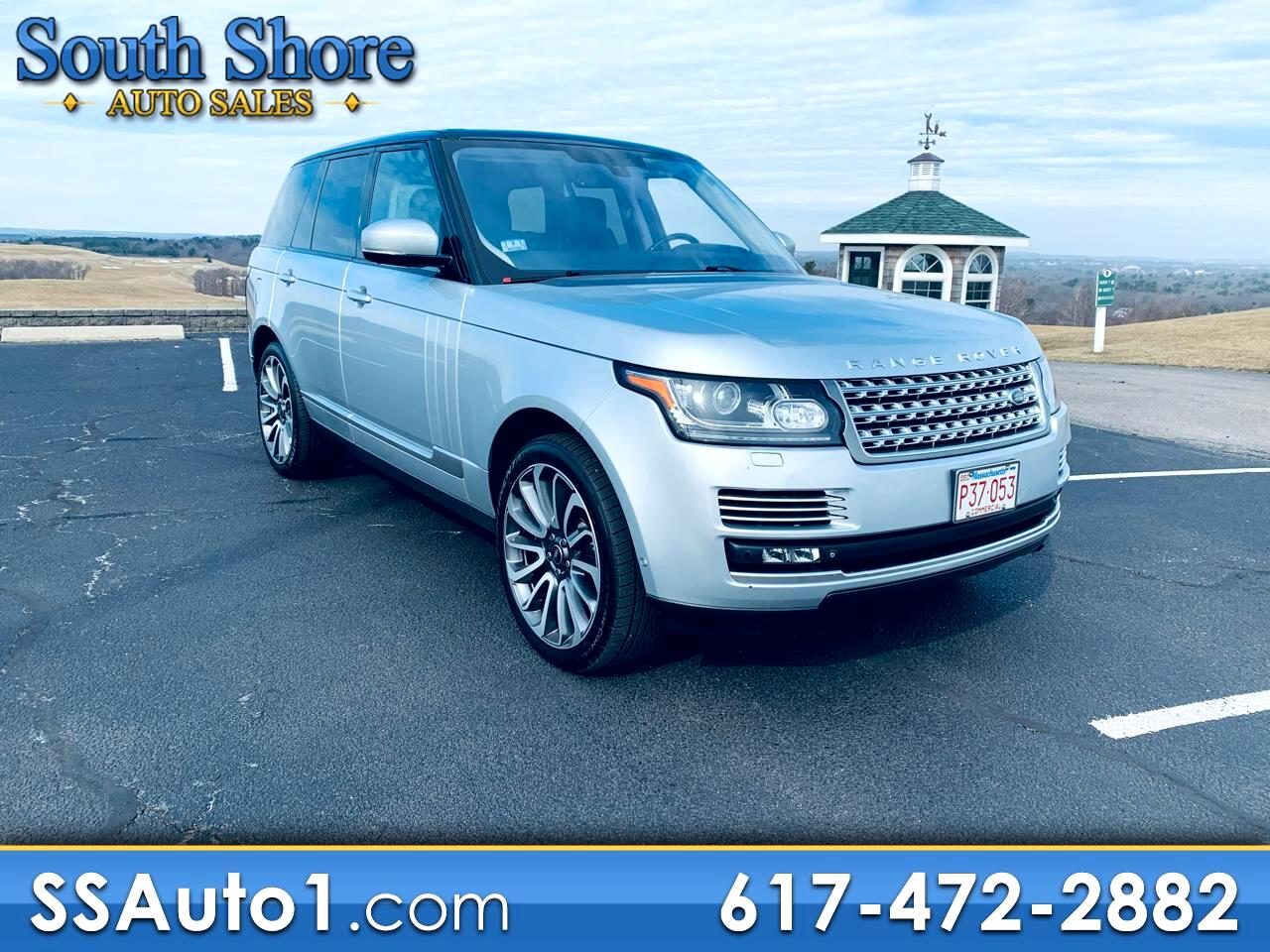 Land Rover Range Rover Autobiography 2015