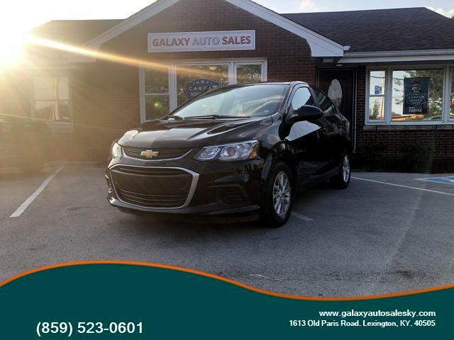 2017 Chevrolet Sonic LT Manual Sedan