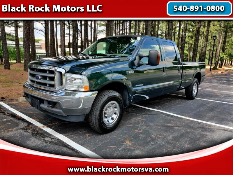 Ford F-250 SD XLT Crew Cab Long Bed 2WD 2002