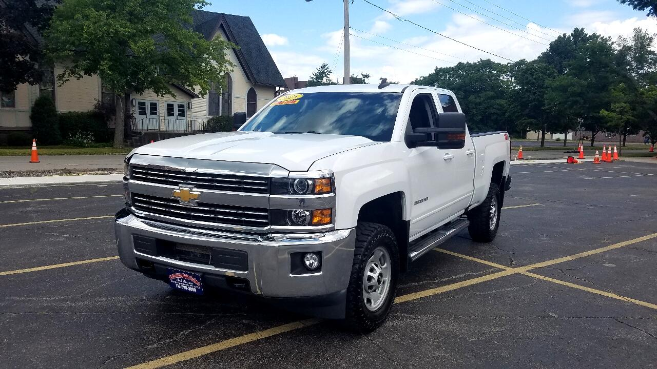 Chevrolet Silverado 2500HD LT Double Cab Short Box 4WD 2018
