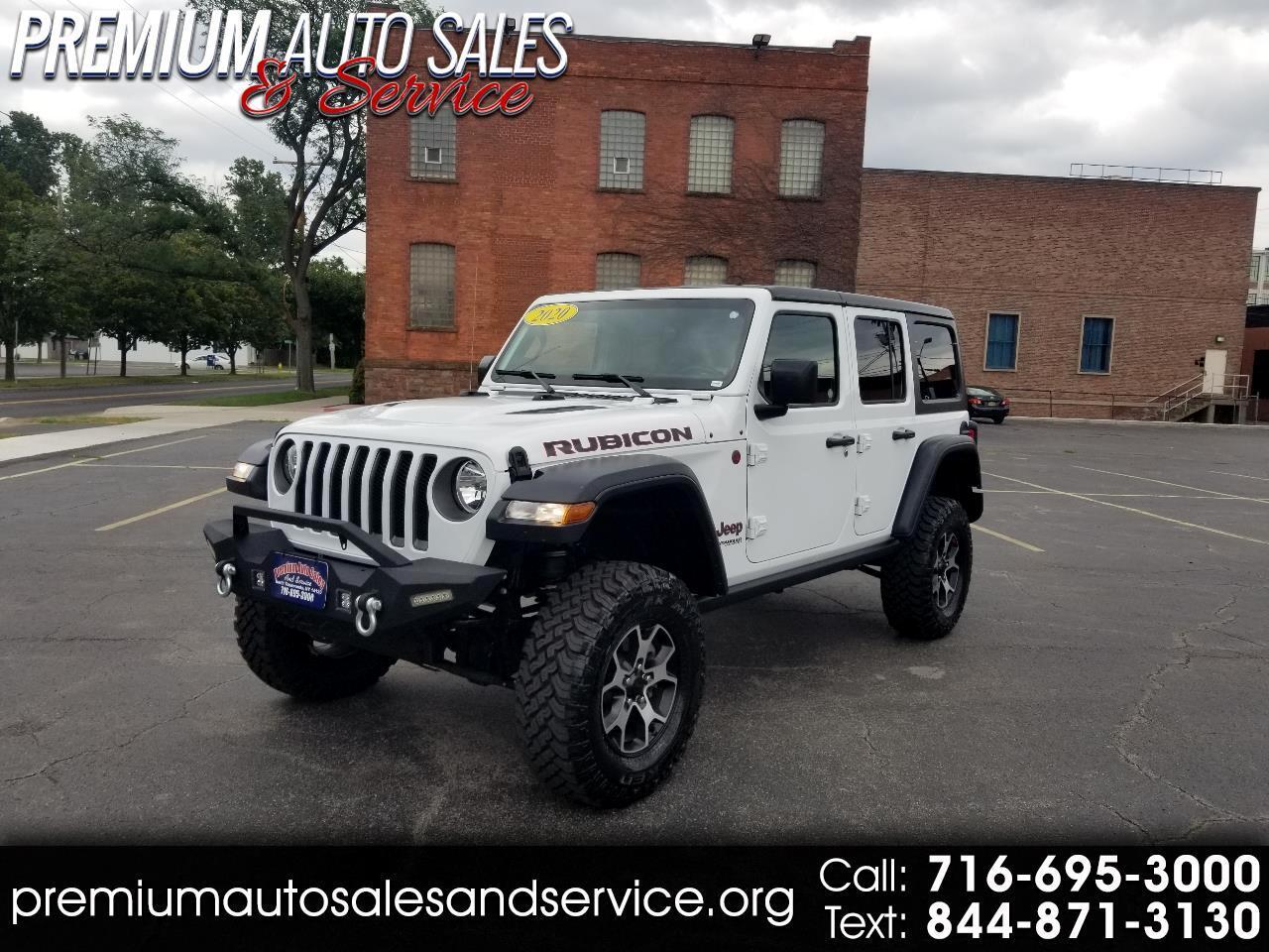 Jeep Wrangler Unlimited Rubicon Recon 2020
