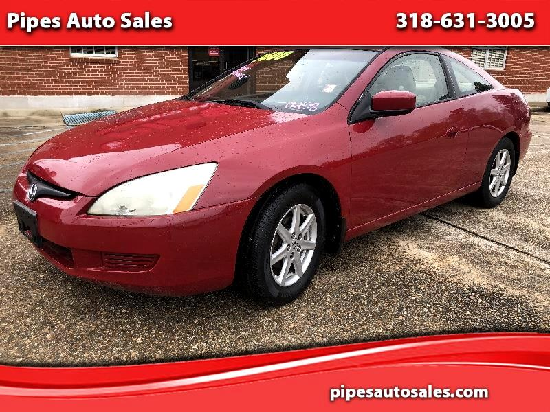 Honda Accord EX V6 Coupe AT with Navigation System 2003