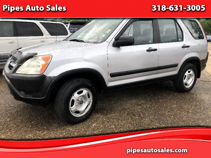 Honda CR-V LX 4WD AT w/ Front Side Airbags 2004