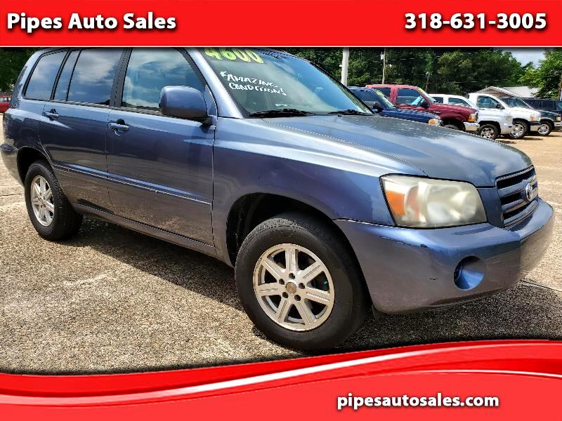 Toyota Highlander V6 2WD with 3rd-Row Seat 2006