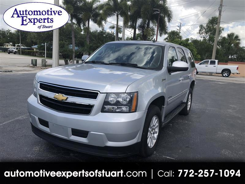Chevrolet Tahoe Hybrid 4WD 2012