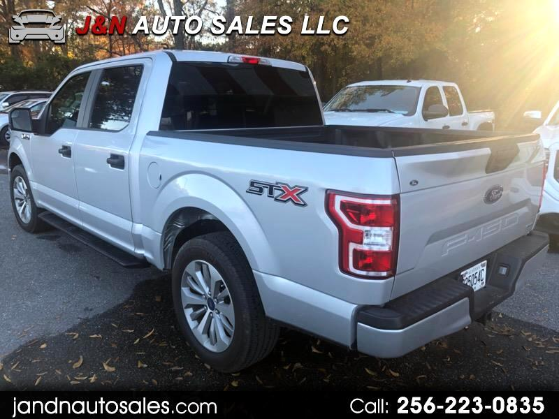 "Ford F-150 SuperCrew Crew Cab 139"" XLT 2018"