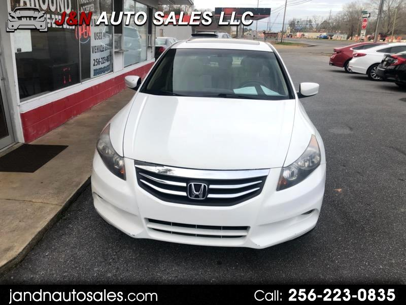 Honda Accord EX-L V6 Sedan AT with Navigation 2012
